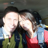 Sky Diving Wedding in Vegas
